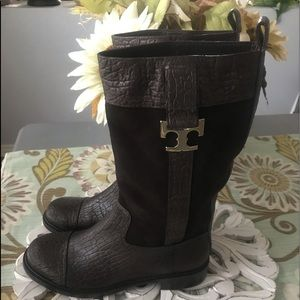 Tory Burch Tall Boots Woman's 7.5
